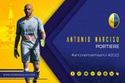 Il portiere Antonio Narciso difenderà ancora la porta del Modena FC