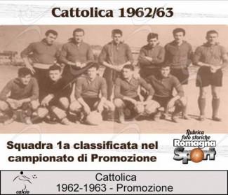 FOTO STORICHE - FC Cattolica 1962-63