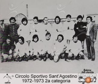 FOTO STORICHE - CS Sant'Agostino 1972-73