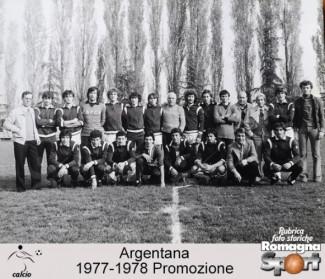 FOTO STORICHE - Argentana 1977-78