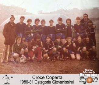 FOTO STORICHE - Croce coperta Giovanissimi 1980-81