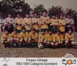 FOTO STORICHE - Fosso Ghiaia, esordienti 1983-84