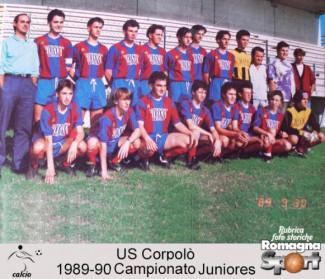 FOTO STORICHE - US Corpolò Juniores 1989-90