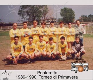 FOTO STORICHE - Ponterotto 1989-90