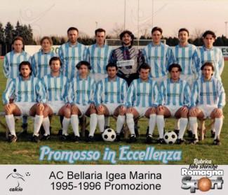 FOTO STORICHE - AC Bellaria Igea Marina 1995-96