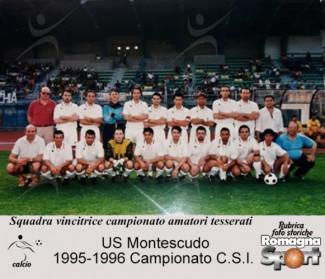 FOTO STORICHE - US Montescudo 1995-96