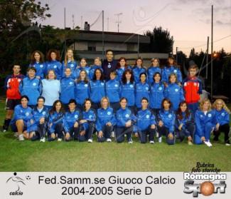 FOTO STORICHE - FSGC Femminile 2004-05