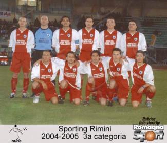FOTO STORICHE - ASD Sporting Rimini 2004-05