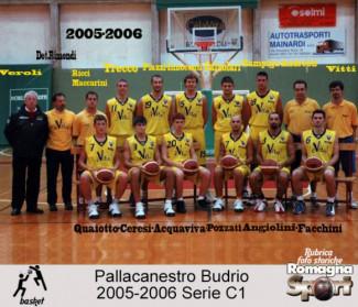 FOTO STORICHE - Pall. Budrio 2005-06