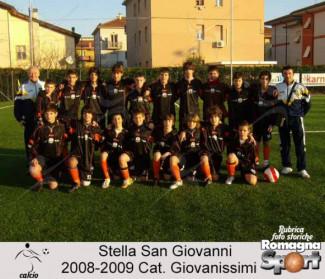FOTO STORICHE - Stella San Giovanni 2008-09, categoria Giovanissimi