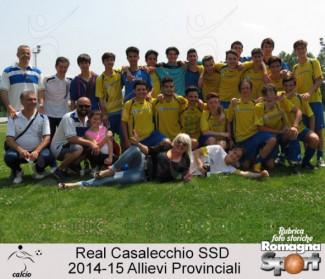 FOTO STORICHE - Allievi Real Casalecchio 2014-15