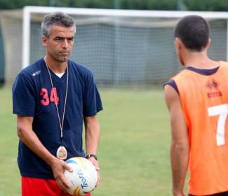 Mister Claudio Treggia al Ravenna F.C.; suoi gli Allievi Nazionali 2003