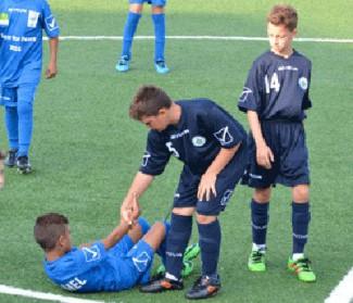 Il 3 Agosto a Lugagnano Val d'Arda partita di calcio tra bambini delle annate 2005/2006/2007/2008/2009