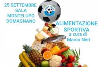 Serata pubblica: la sana alimentazione sportiva dei giovani calciatori