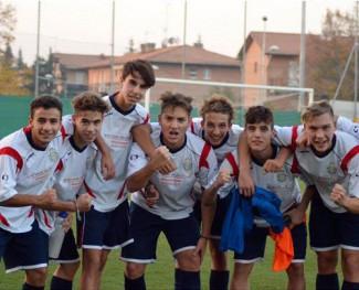 Gli allievi 2000 del Castelvetro qualificati alla fase regionale del campionato