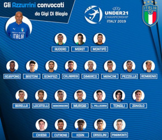 Europei UEFA U21: lunedì allenamento a porte aperte a Casteldebole per gli Azzurrini