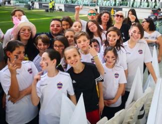All'Allianz sventola l'orgoglio xeneize. Boca Girl protagonista a Torino