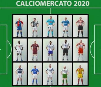 On line la tabella del CALCIOMERCATO 2020
