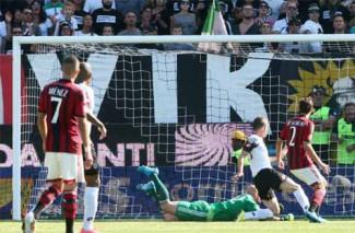 Cesena vs Milan 1-1