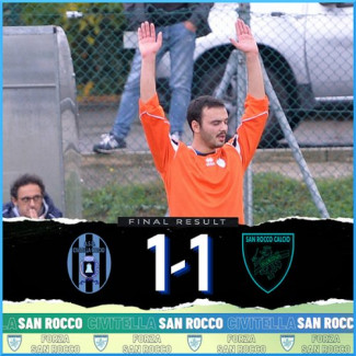 Civitella vs San Rocco 1-1