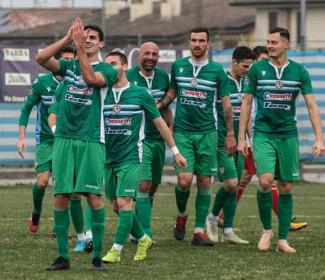 Matteo Rossini,  il suo primo gol con la Vigor Carpaneto e l'esultanza originale