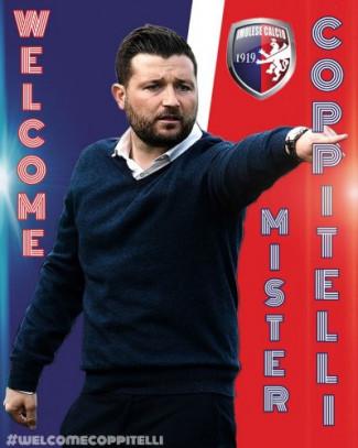 Imolese:  Federico Coppitelli nuovo allenatore responsabile della prima squadra
