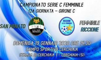 San Miniato – Asd femminile Riccione 2-1