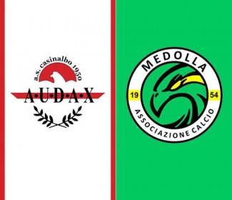 Audax Casinalbo vs Medolla 1-0