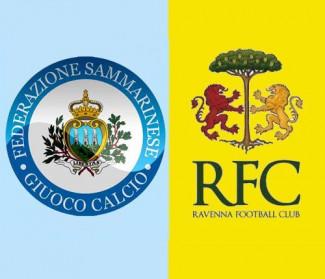 Mercoledì 14 amichevole Ravenna vs nazionale sammarinese
