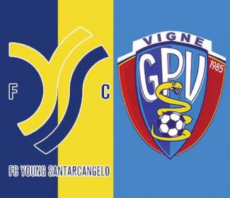 Young Santarcangelo-Vigne 3-2
