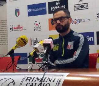 Rimini vs Feralpisalò, la vigilia di mister Martini