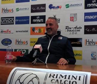 Rimini vs Renate, la vigilia di mister Petrone
