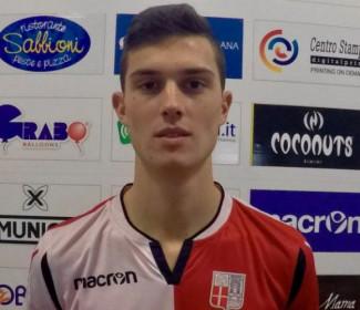 Pierfederici (Rimini FC) in nazionale universitaria