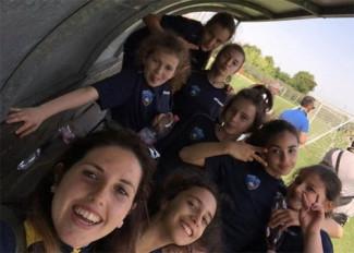 "Promosport  femminile al IV torneo ""Insieme per i giovani""."
