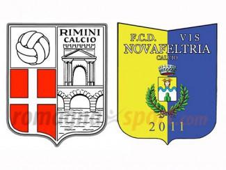 Vis Novafeltria-Rimini Giovanissimi 2002  2-0 (primo tempo 1-0)