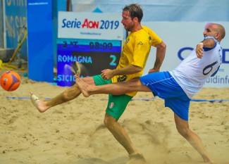 Beach Soccer - Romagna: una vittoria e due sconfitte nel week end