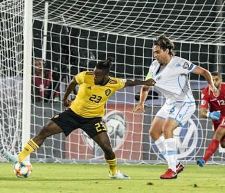 San Marino vs Belgio 0-4