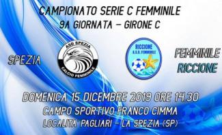 Asd femminile Riccione, lunga trasferta in Liguria con lo Spezia