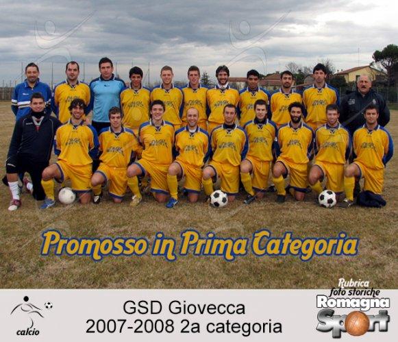 FOTO STORICHE - GSD Giovecca 2007-08