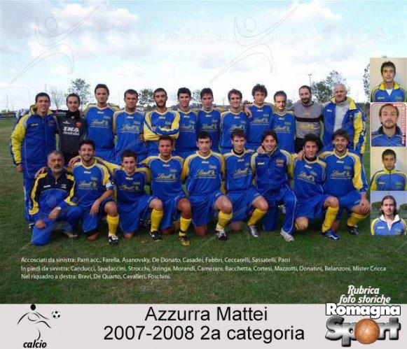 FOTO STORICHE - Azzurra-Mattei 2007-08