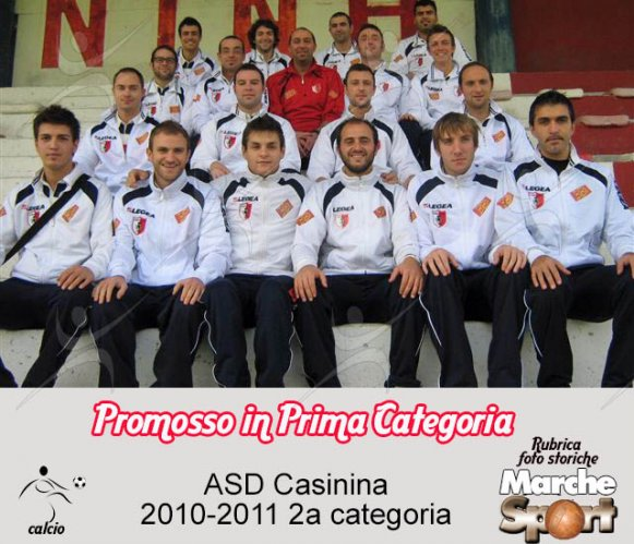 FOTO STORICHE - ASD Casinina 2010-11