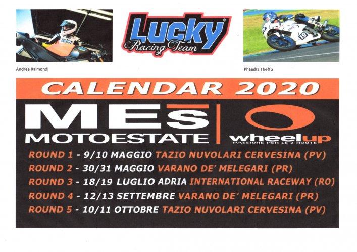 Il Lucky Racing Team al MotoEstate con Raimondi e la Theffo