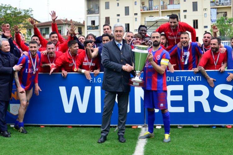Il Casarano vince la Coppa Italia Dilettanti