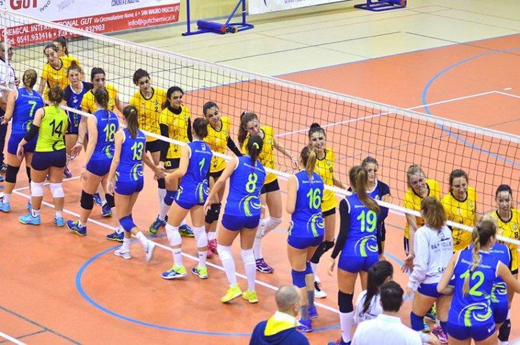 Pallavolo Serie C Femminile:Rubicone In Volley RIV-Banca San Marino 0-3