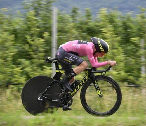 16a tappa giro d'italia 2018 – Cronometro da Trento a Rovereto di 34,2 km