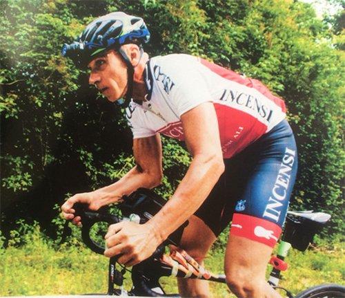l'impresa sportiva del corridore forlivese, Ivano Incensi
