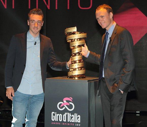 Presentazione giro d'italia 2019