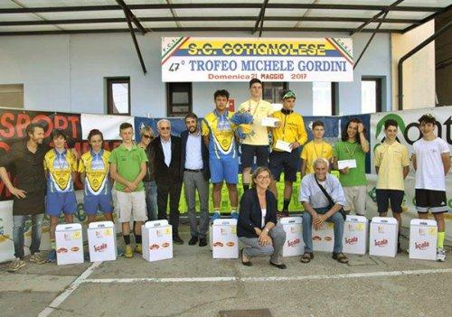 """A Cotignola il 48esimo trofeo """"Michele Gordini"""" per giovani ciclisti"""