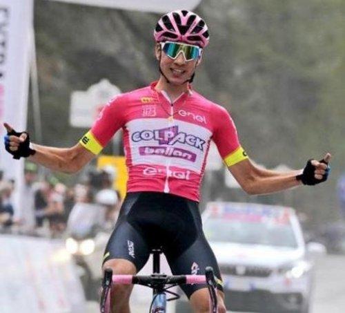 Altro capolavoro dello spagnolo Juan Ayuso nella settima tappa del giro under 23