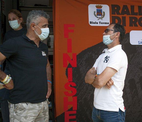 Anche Davide Cassani alla cerimonia di chiusura del Rally di Romagna